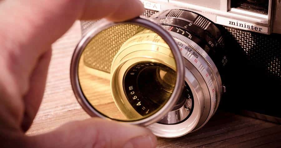 Protective Filter for Camera Lens