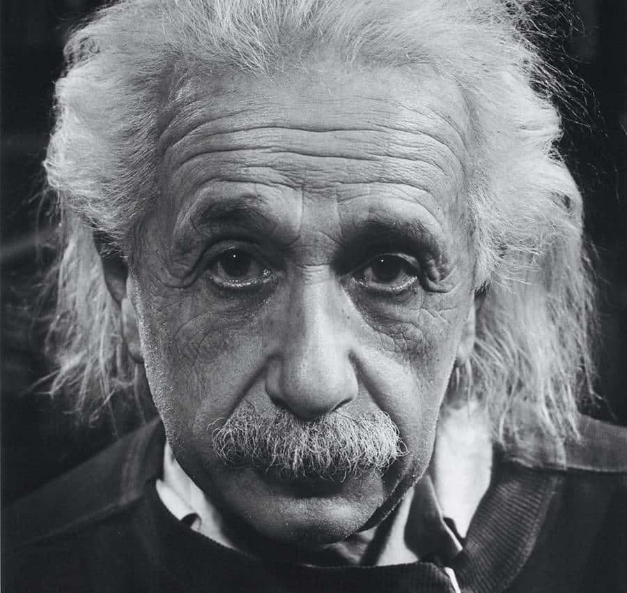 Philip Halsman. Albert Einstein, 1947.