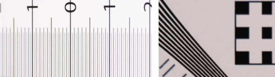 Chromatic Aberration 70 mm