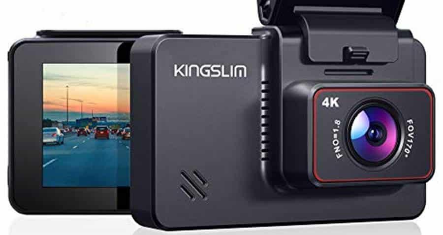 Kingslim D4 4K Dual Dash Cam