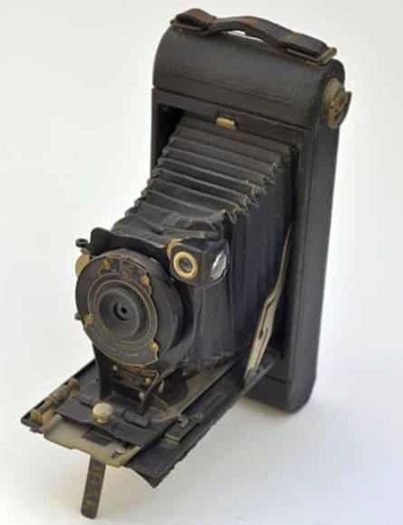 First Portable Camera