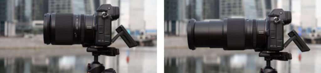 focusing distance of Nikkor Z 24-200mm F/4-6.3 VR Lens