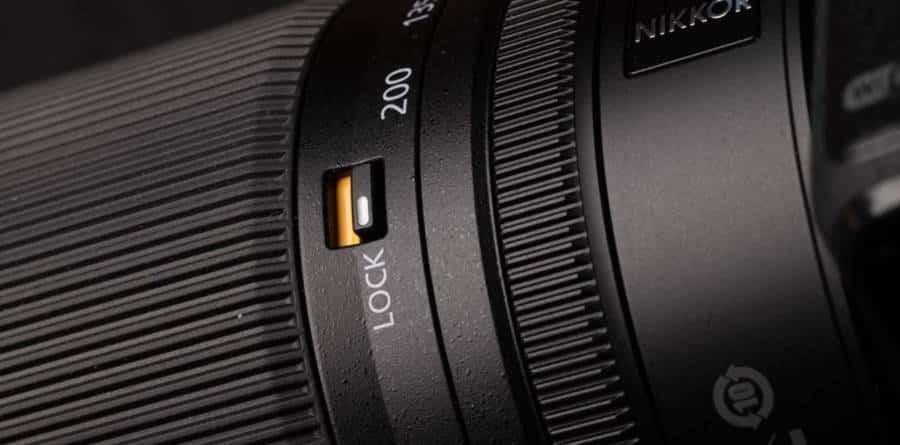 Nikkor Z 24-200mm F/4-6.3 VR Zoom Lock