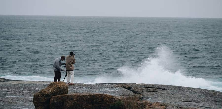 Photographing the Sea