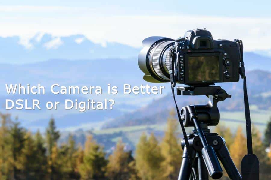 Which Camera is Better DSLR or Digital