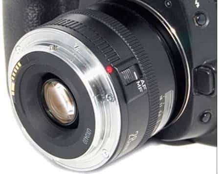 Bayonet Camera Using a Reversing Ring