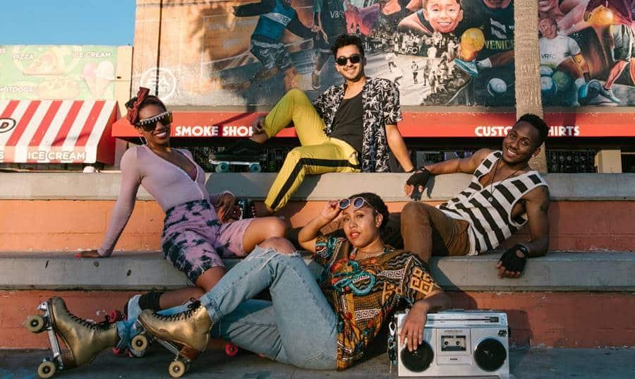 The 80s (Disco) Style Retro Photography