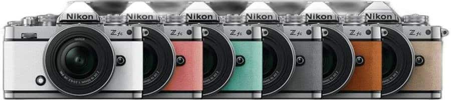 Nikon Z FC - Color Varients