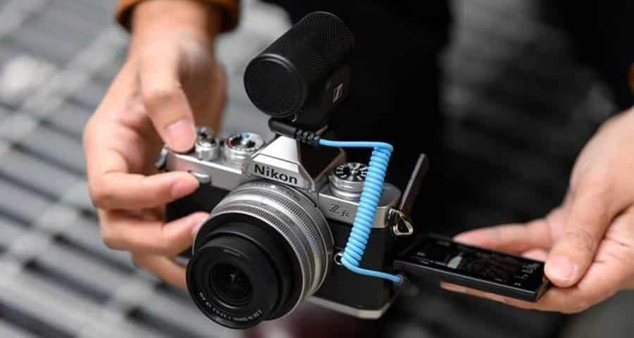 External Mic with Nikon Z FC