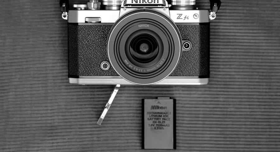 Nikon Z FC - Battery and Card Slot