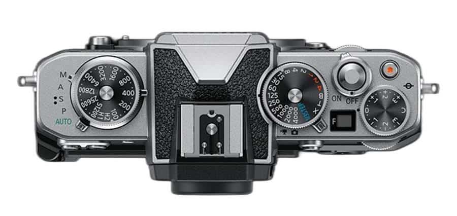 Top View of Nikon Z FC
