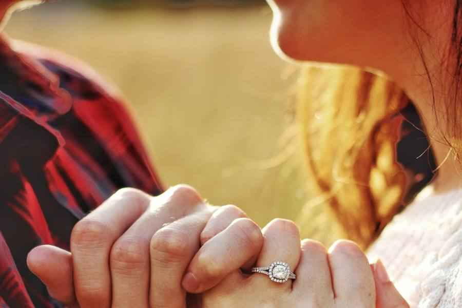 Body Parts and Engagement Ring