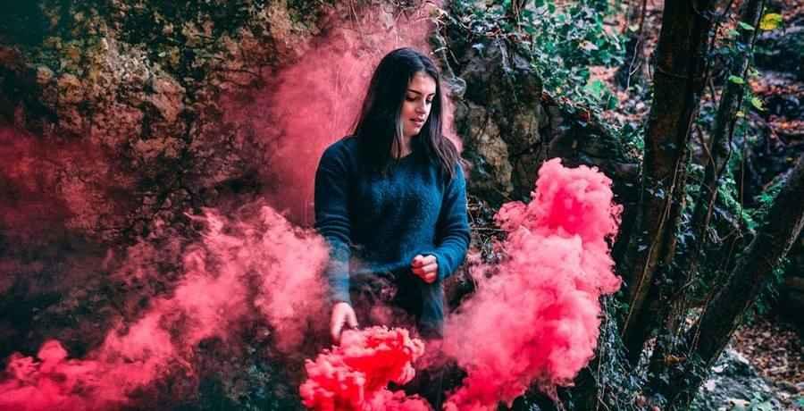 Fabulous Photo Session with Smoke